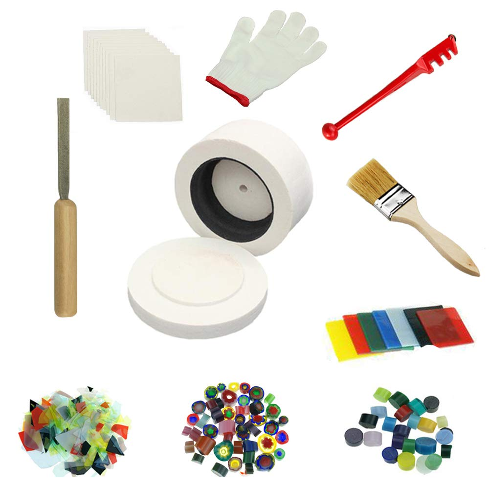 Professional Large Microwave Kiln Kit 10pcs/ Set For Fusing Glass Kiln Jiajie