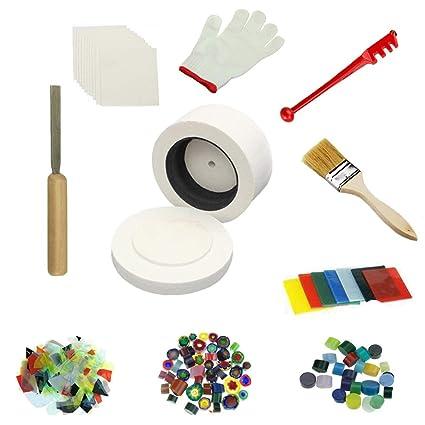 Profesional Grande microondas horno Kit 10pcs/set para horno de vidrio de fusión