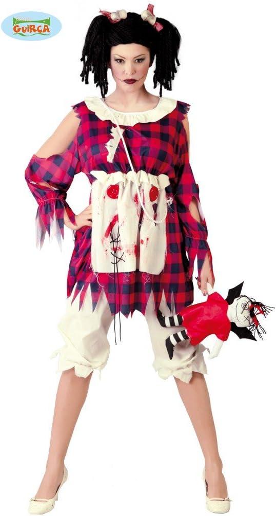 Disfraz de Muñeca de Trapo (Talla 42-44): Amazon.es: Juguetes y juegos