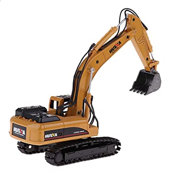 1//50 Bagger Baufahrzeuge Baustelle Fahrzeug Engineering Cars für Kinder