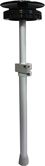"""Extends 34/"""" to 59/"""" Max Pole Base Boat Vent 2 Vico Marine 59/"""" Support Pole"""
