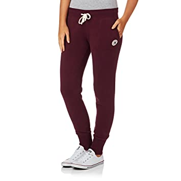 3e982417c5b1 Converse Core Fit Tracksuit Bottoms - Deep Wine