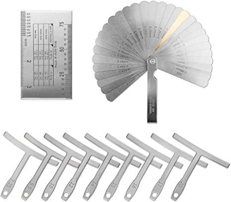 Novelfun Kit de herramientas de luthier para guitarra, incluye ...