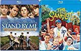 Sandlot + Stand By Me Stephen King Blu-ray Collection 2 Kid Movie Bundle Set