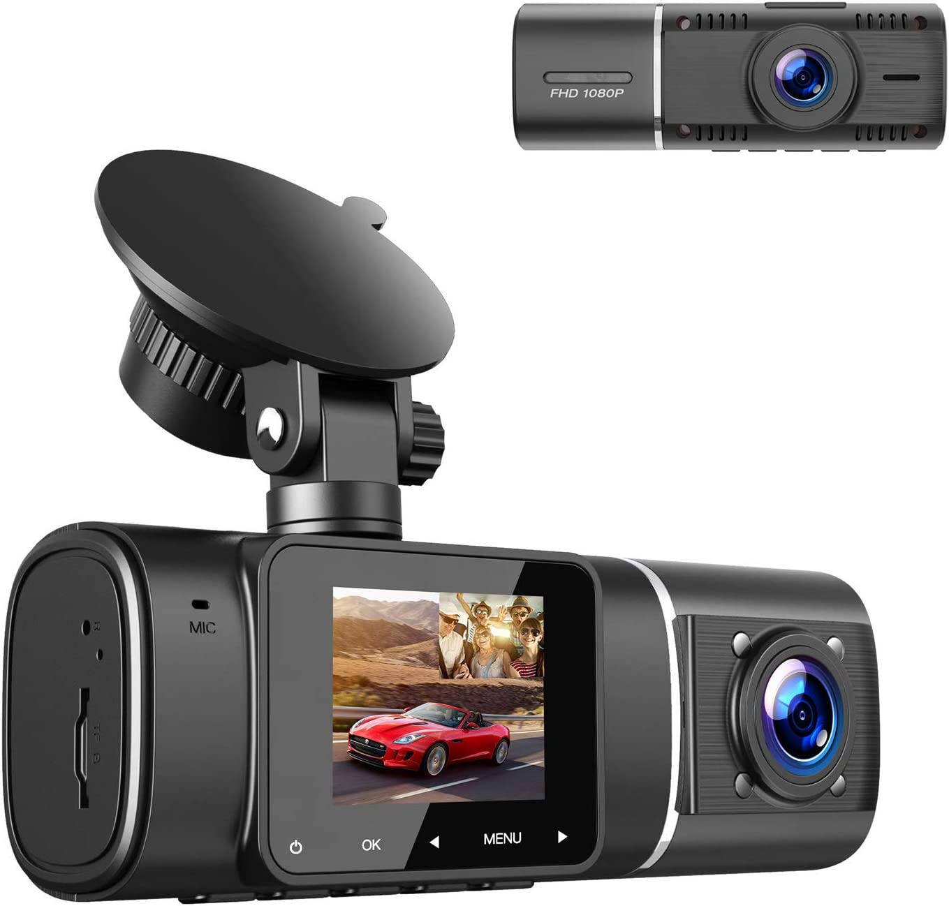 ToGuard Dual Dash Cam with IR Night Vision