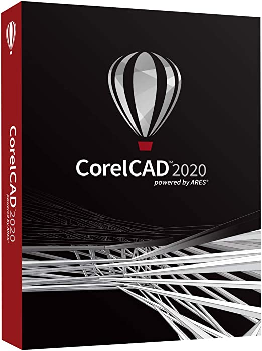 Amazon Com Corelcad 2020 Design And Drafting Software Pc Mac Disc Software