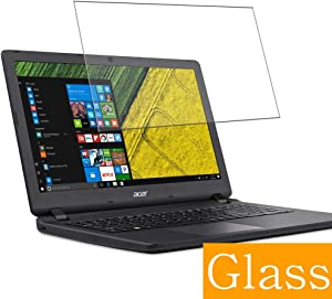 """Synvy Tempered Glass Screen Protector for Acer Aspire ES1-523 / ES1-524 / ES1-531 / ES1-532g 15.6"""" Visible Area 9H Protective Screen Film Protectors (Not Full Coverage)"""