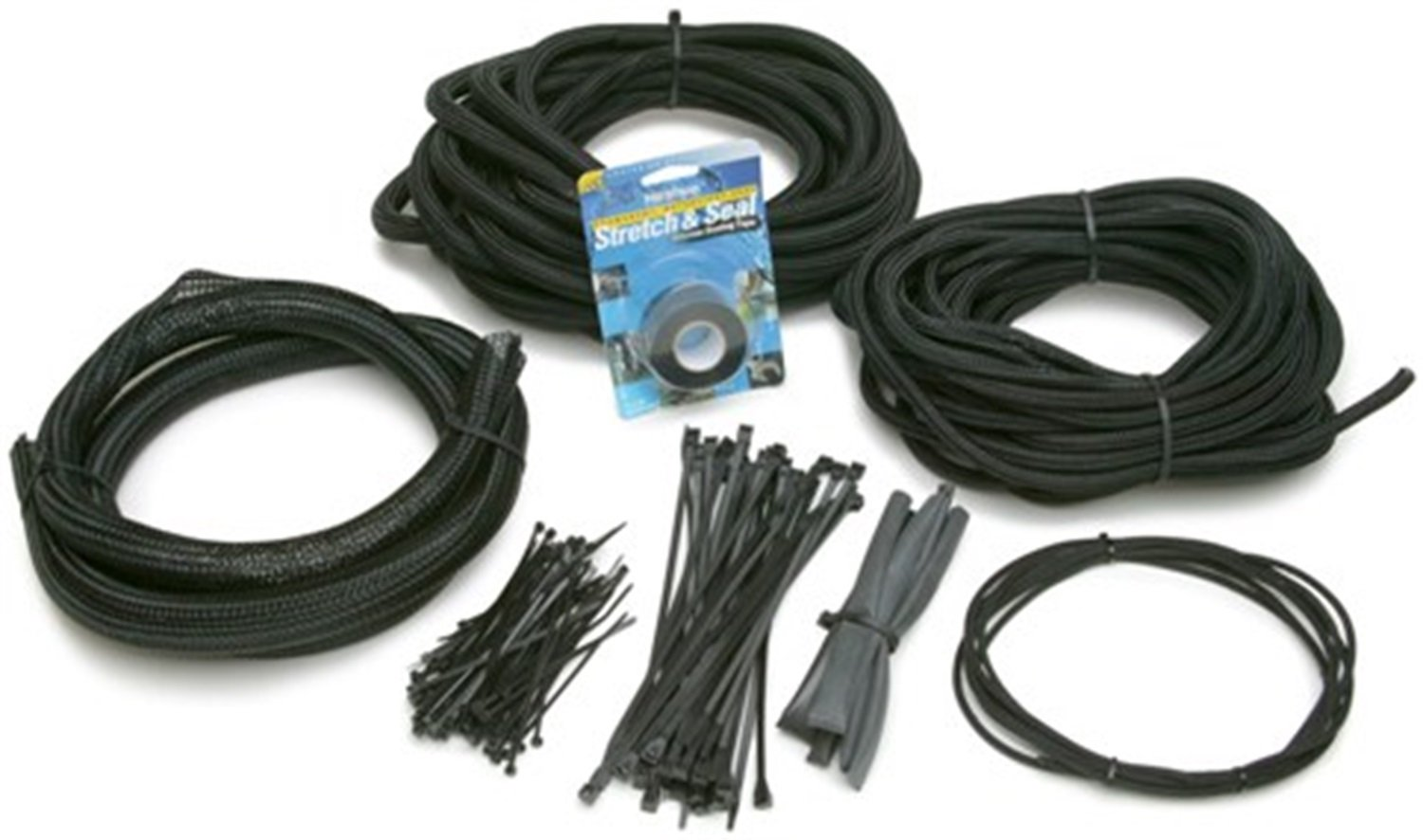 61KyQSub1fL._SL1500_ amazon com painless 70921 powerbraid wire wrap kit automotive
