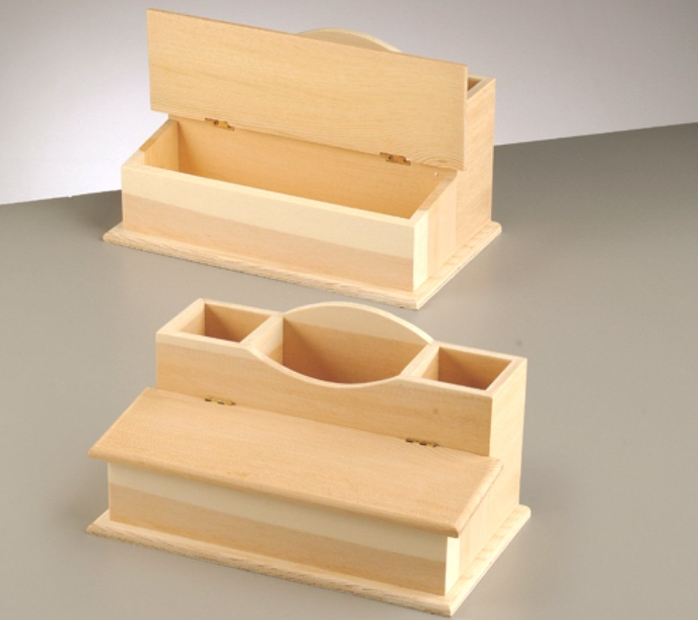 wood desk tidy to decorate wooden shapes for crafts amazoncouk kitchen u0026 home
