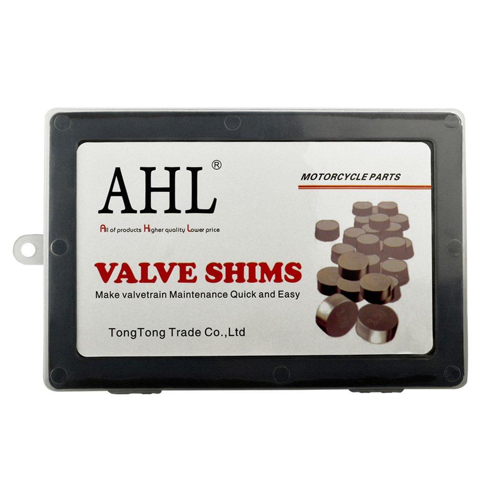 141pcs AHL Adjustable Valve Shim Kit 7.48mm O.D 1.20mm-3.50mm Thick for Kawasaki KX250F KX250 F 2004-2012
