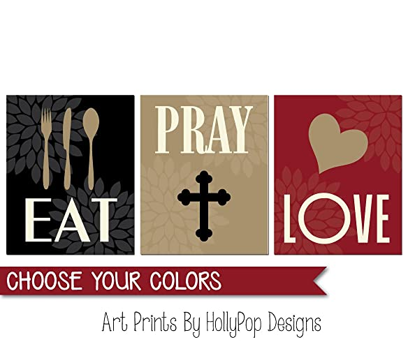 Genial EAT PRAY LOVE, Kitchen Wall Art, Kitchen Art Prints, Dining Room Decor,