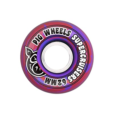 Roues Pig: Supercruiser Swirl New Blue (58 mm)