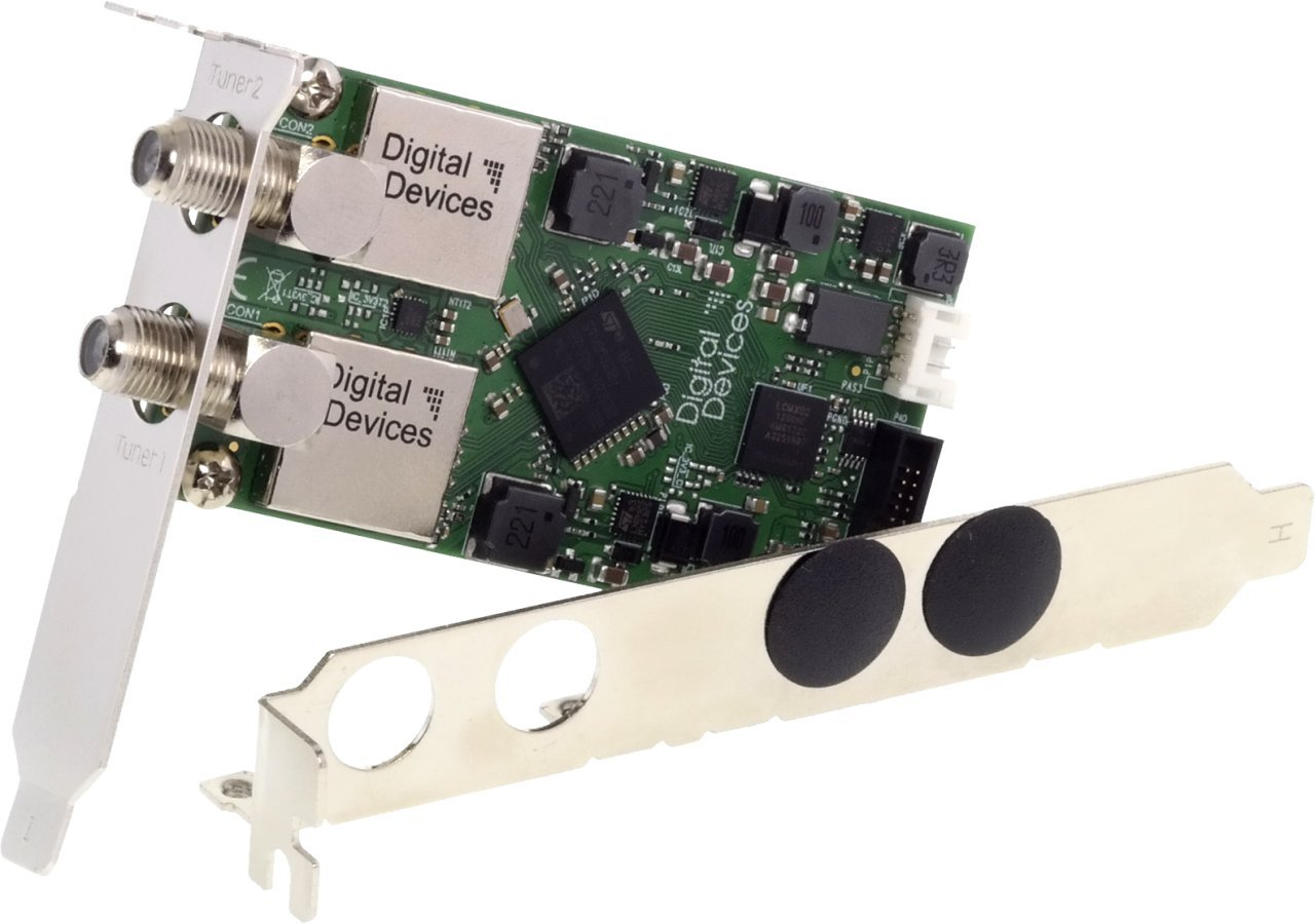 DD Duoflex S2 V4A Erweiterung Digital Devices Twin Tuner TV Erweiterungsmodul DVB-S//S2