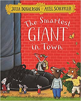 Book's Cover of The Smartest Giant In Town (Inglés) Tapa blanda – 21 abril 2016