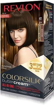 Revlon Luxurious ColorSilk Buttercream 30N Marrón - coloración del cabello (Marrón, 30N, Dark Brown)