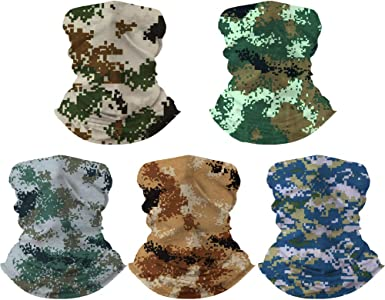 Camouflage Multi Scarf Head Band Face Mask Fishing Shield Neck Gaiter