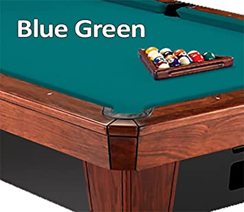 Simonis Cloth 860HR Pool Table Cloth   Blue Green   9ft