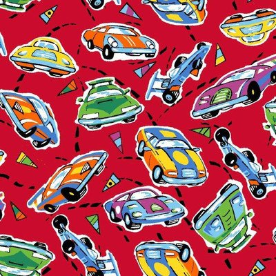 Race Cars Pack N Play Fitted Sheet