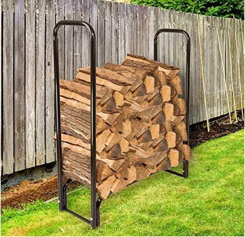 4 Renewed Pure Garden 50-124 Firewood Log Rack