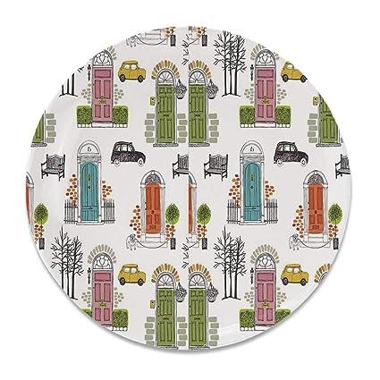 Amazon.com: YOLIYANA Kitchen Decor Ceramic Decorative Plate ...