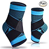Plantar Fasciitis Sock with Arch Support, Eases Swelling, Achilles tendon & Ankle Brace Sleeve with Compression Effective Joint Pain Foot Pain Relief from Heel Spurs