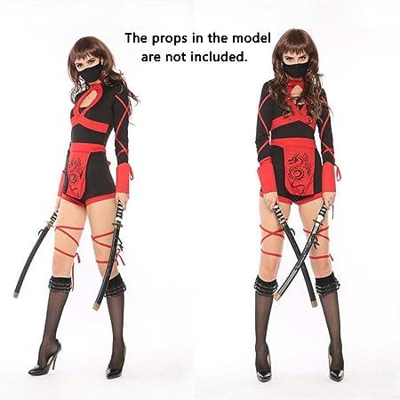 HEROMEN Disfraz De Cosplay De Ninja para Mujer Escenario Bar ...