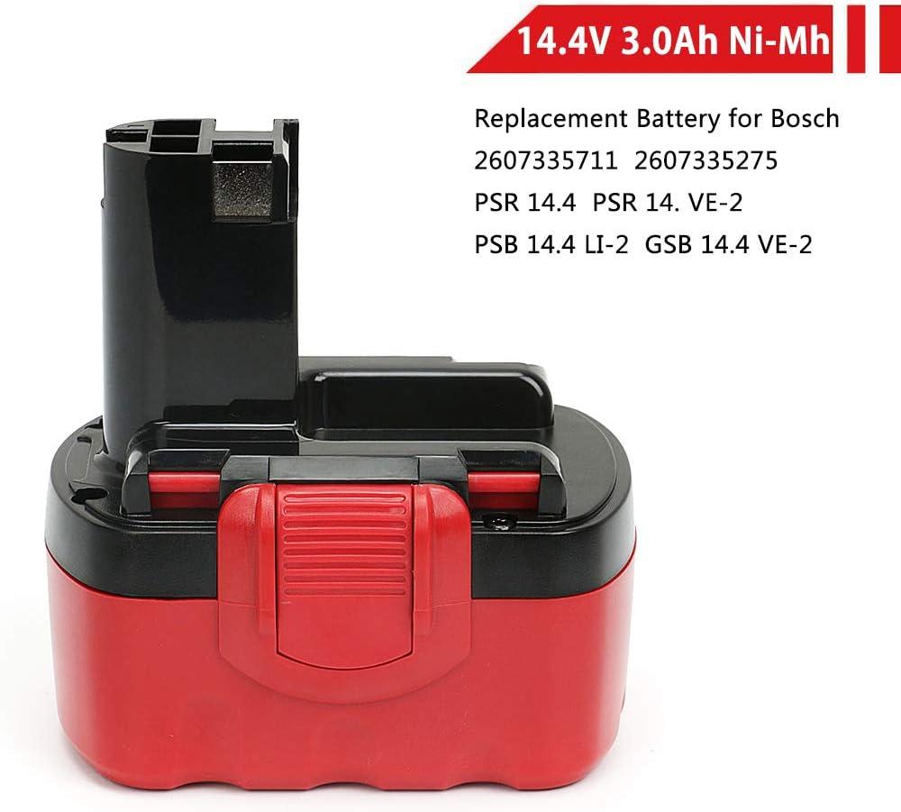 Neue Ersatz Akku 14,4v 2500 mAh Ni-MH für Bosch BAT040 BAT041 PSR 14.4VE-2