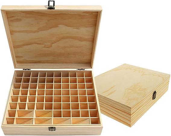 CHSEEO Caja de Almacenaje de Aceites Esenciales, 74 Botellas Aceite Contenedor Organizador Cosméticos Expositores Estantes para Esmaltes de Uñas, Perfumes, Labiales, Aceite Esencial #6: Amazon.es: Hogar