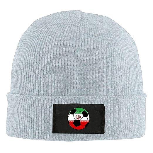 a68e7503c45ee0 GQOP Knit Beanie Iran Soccer Winter Hat Skull Cap Men Women at Amazon Men's  Clothing store: