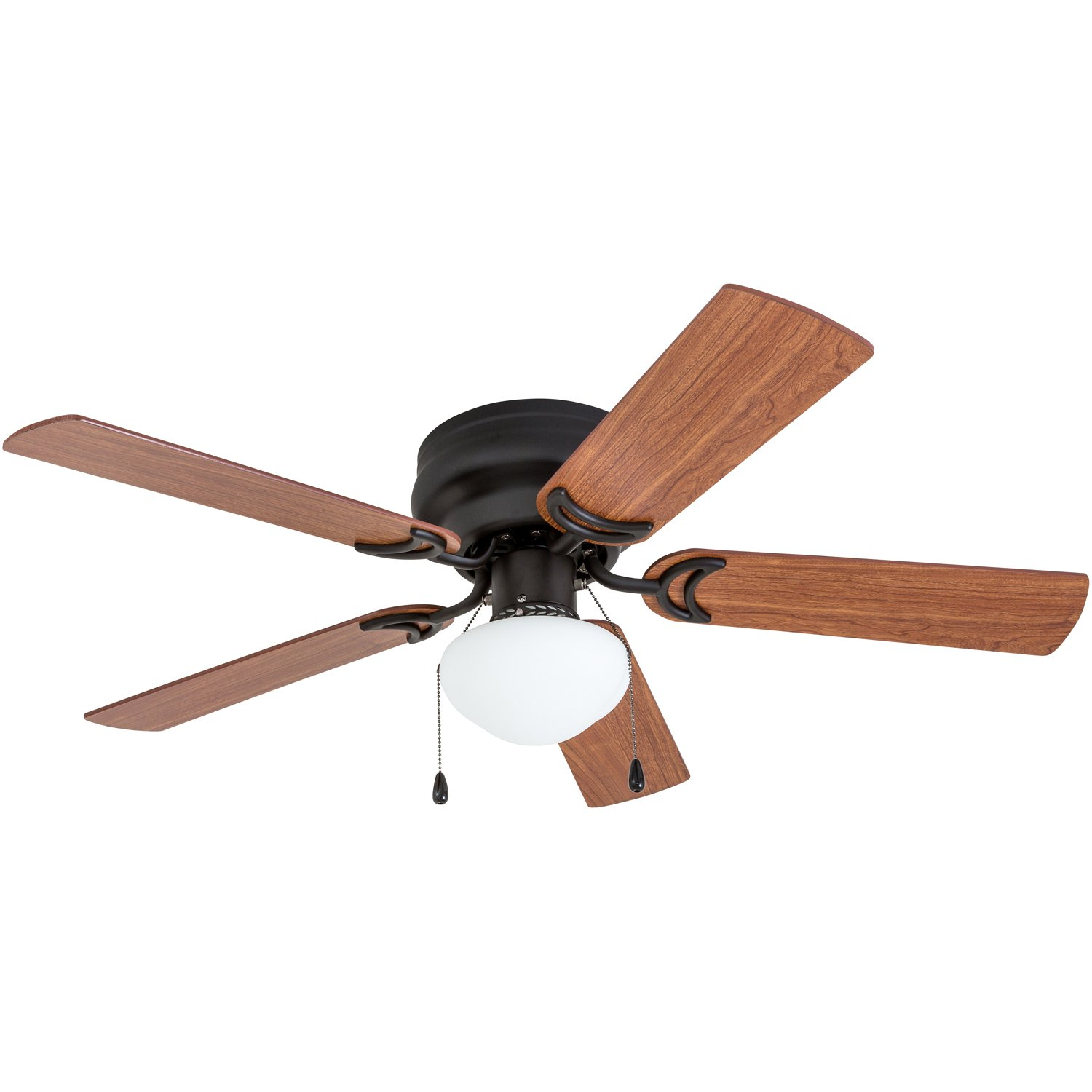Prominence Home 50860 Alvina LED Globe Light Hugger/Low Profile Ceiling Fan, 42 inches, Bronze by Prominence Home (Image #5)