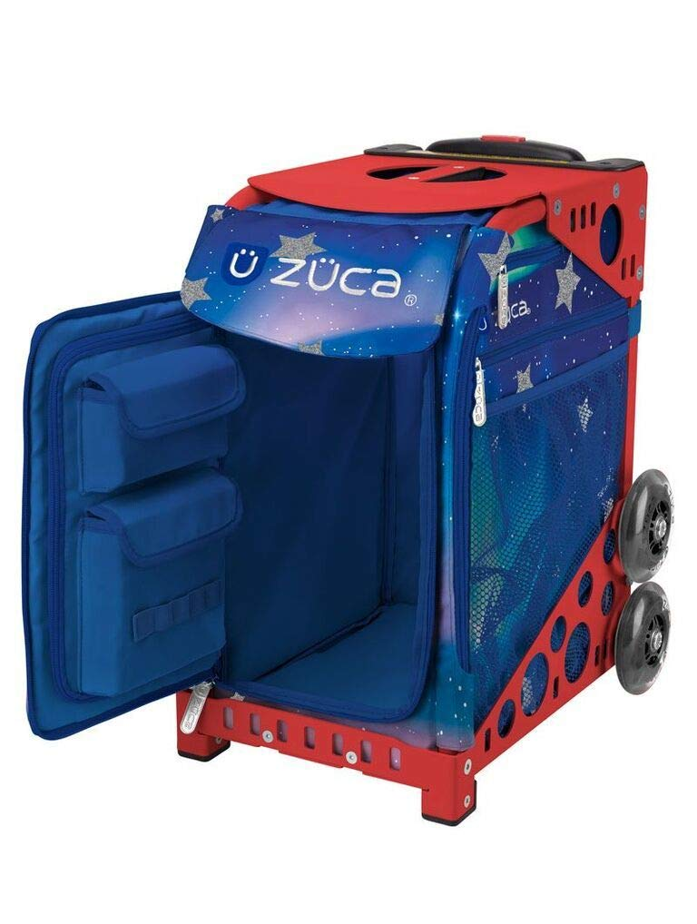 ZUCA Sport Suitcase with Built-in Seat Choose Your Frame Color Aurora Insert Bag