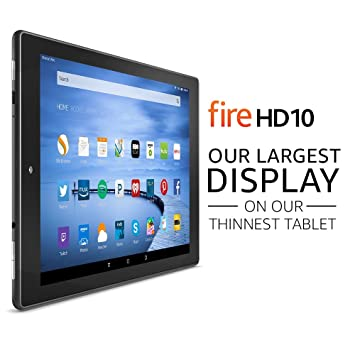 Fire HD 10 Tablet with Alexa, 10 1