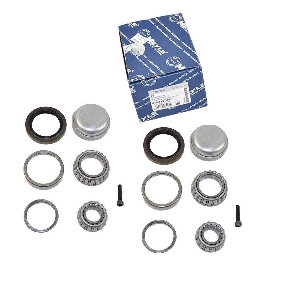 Front Wheel Bearing Kit for Mercedes-Benz C230 C240 C250 C280 C300 C32 C320 C350 CLK320 C55 C63 AMG CLK320 CLK350 CLK500 CLK55 AMG CLK550 SLK280 SLK300 SLK350 SLK55 AMG Meyle Germany 0140330062 x2pcs