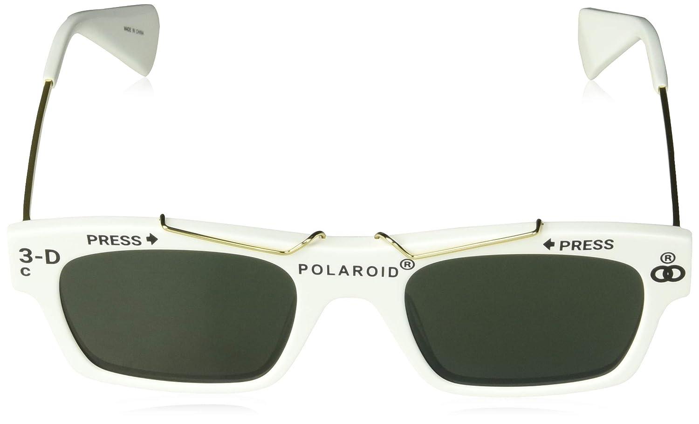 Polaroid GAFAS DE SOL 6045/S/X VK6 (UC) BLANCO POLARIZADO: Amazon.es: Ropa y accesorios