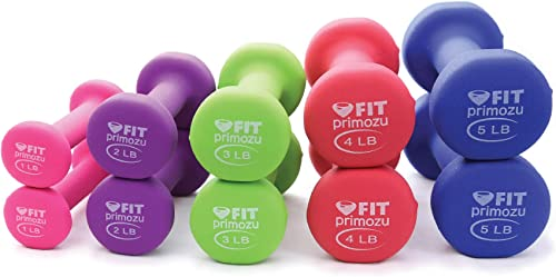 Primozu FIT Neoprene Dumbbells Set