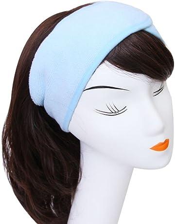 Westeng Femmes Bandeau de Cheveux en Coton Bandeau Serre-tête pour Soin  Visage Maquillage Bain 119b290dae1