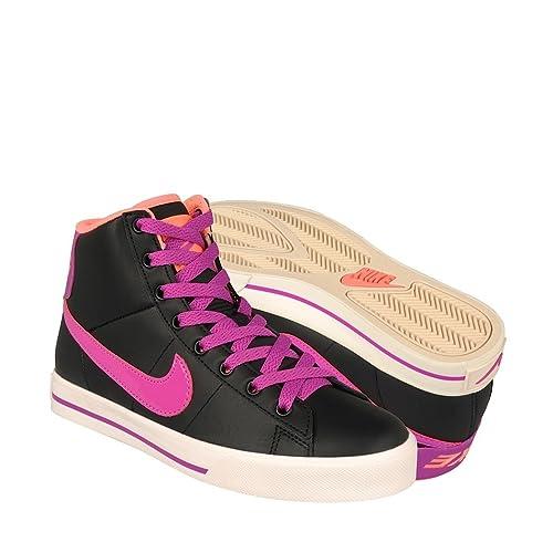 zapatos nike mujer rosa piel