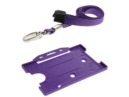ID Card It - Cinta colgante para identificación con soporte ...