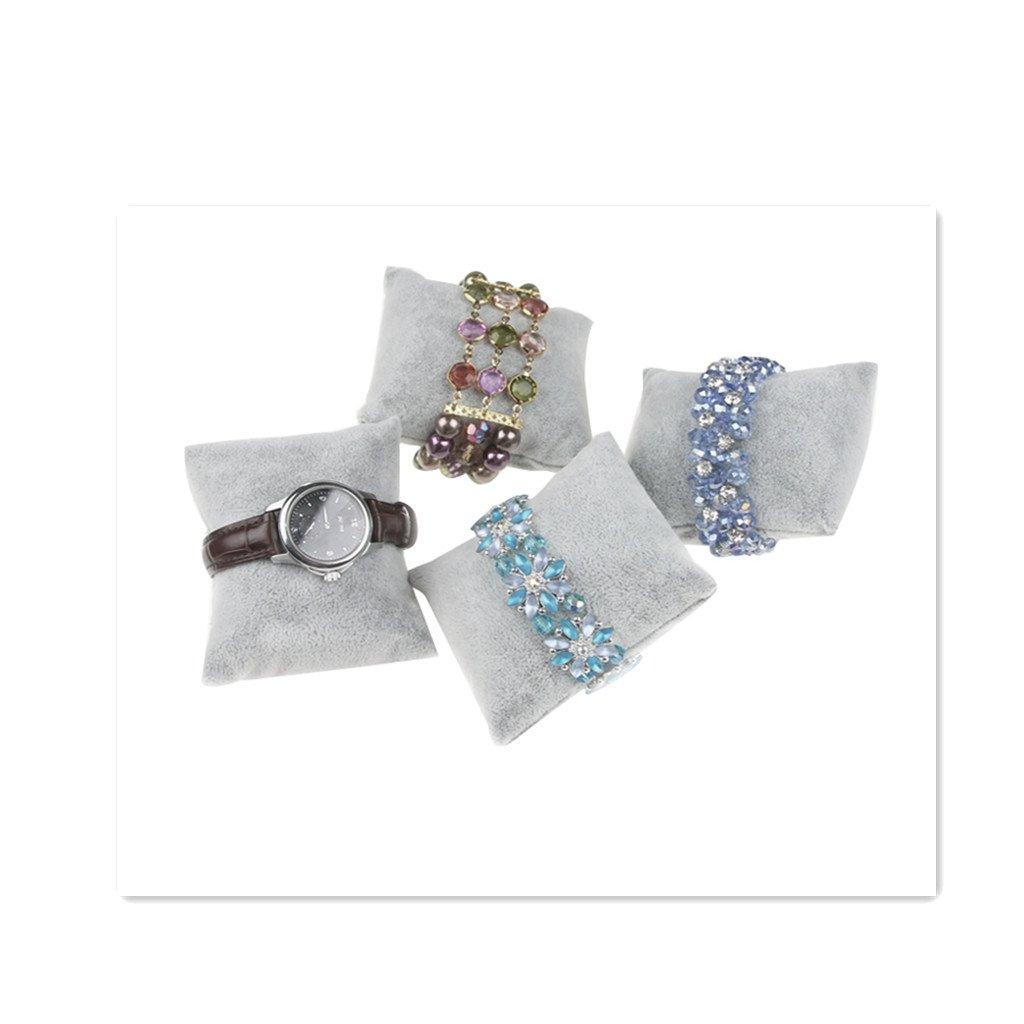 Baosity 5pcs Pr/ésentoirs Coussin Oreiller Petit Velours Bracelet Montre Vitrine