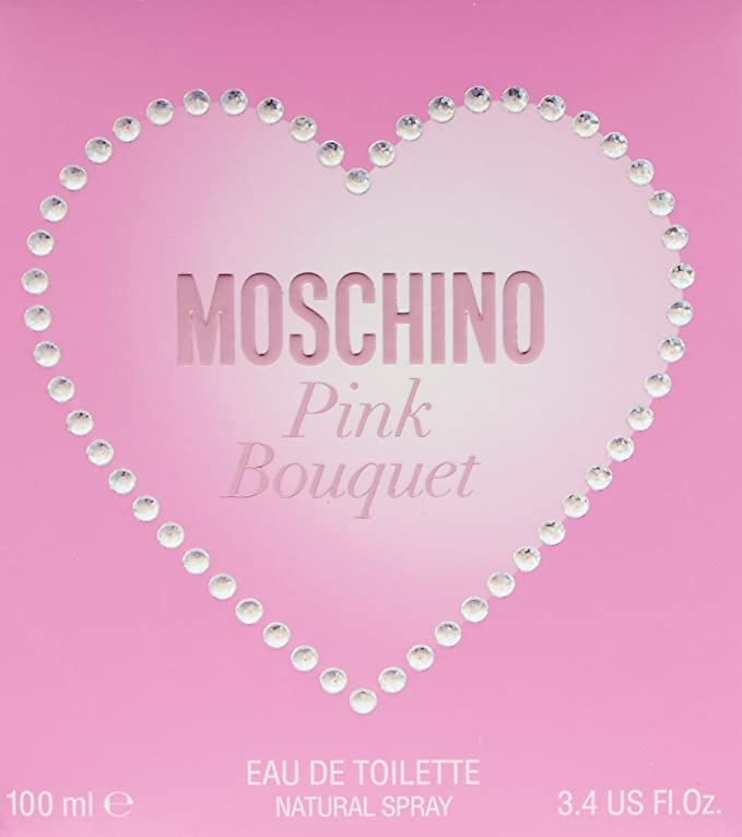 Moschino - Pink Bouguet - Eau de Toilette para mujer - 100 ml: Amazon.es: Belleza