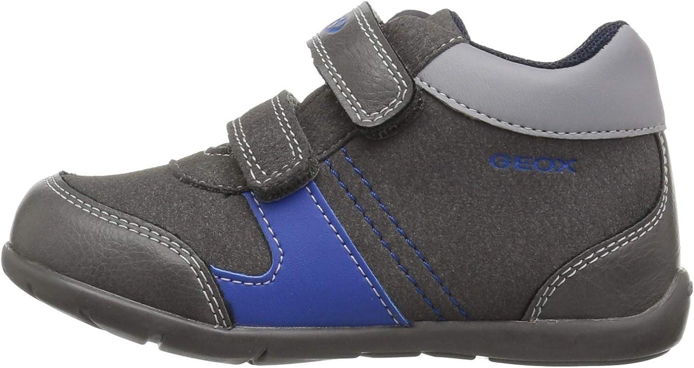 Geox Kids Elthan Boy 1 High Top Velcro Shoe Sneaker
