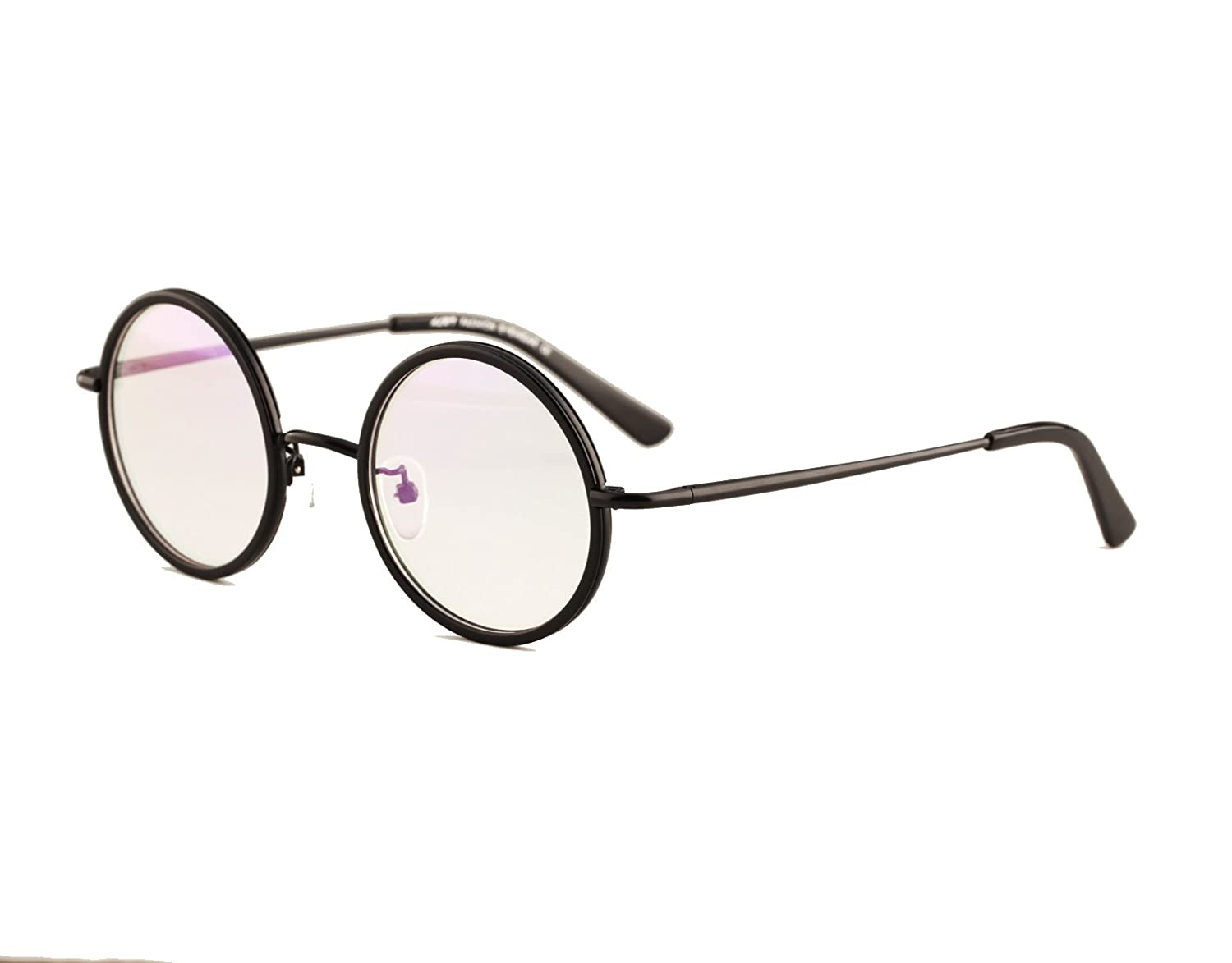 45913d497ad Agstum Vintage Retro Small Round Prescription Optical Eyeglass Frame ...