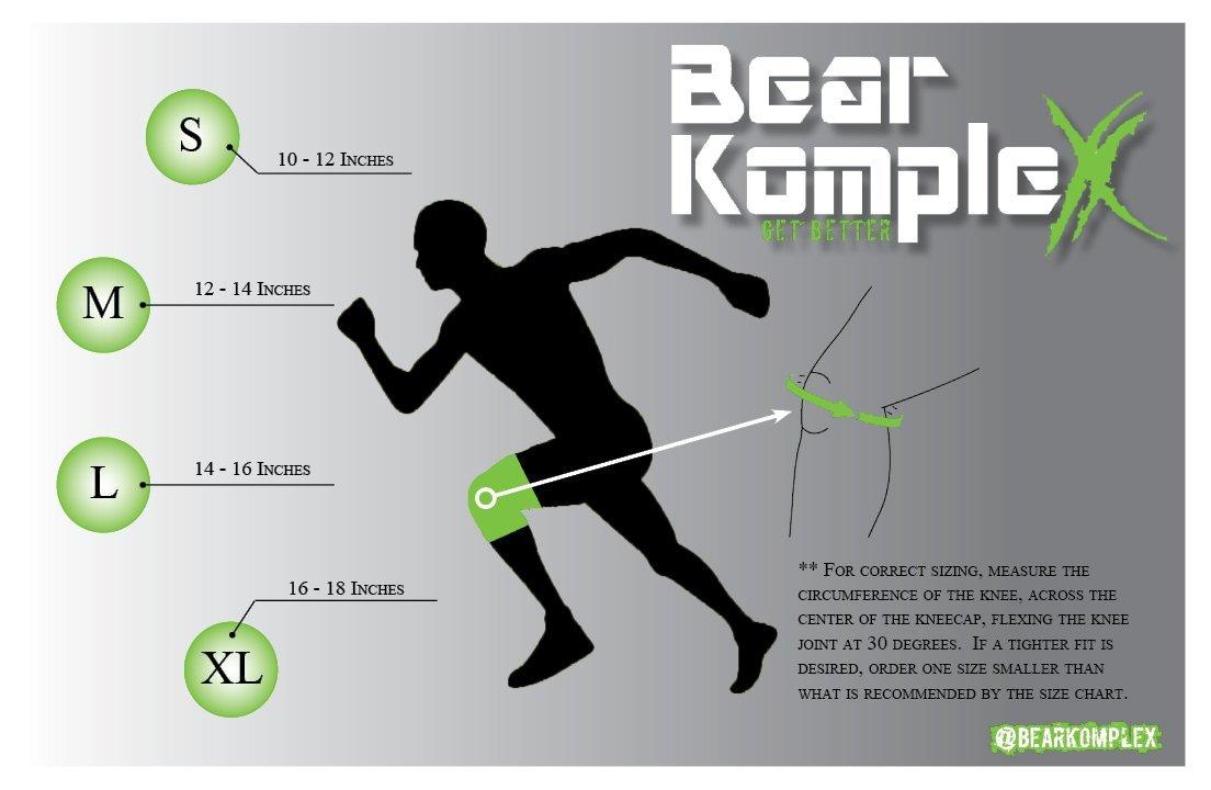 Bear KompleX Knee Sleeve sizing