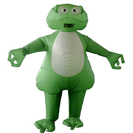 Amazon.com: LOVEPET Frog Spot - Disfraz hinchable para ...