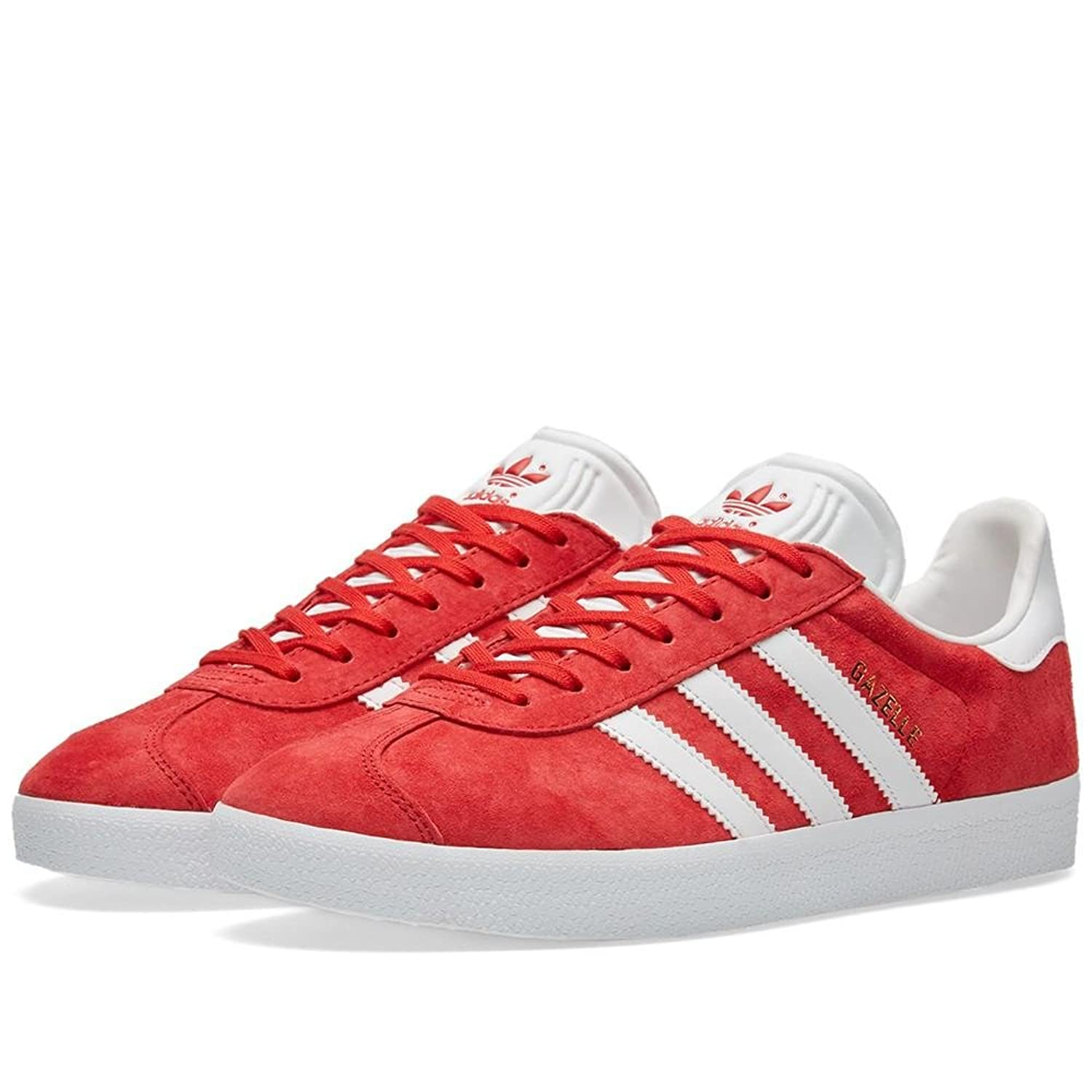 Adidas Originals Men\u0027s Gazelle Lace-up Sneaker Red BB5486