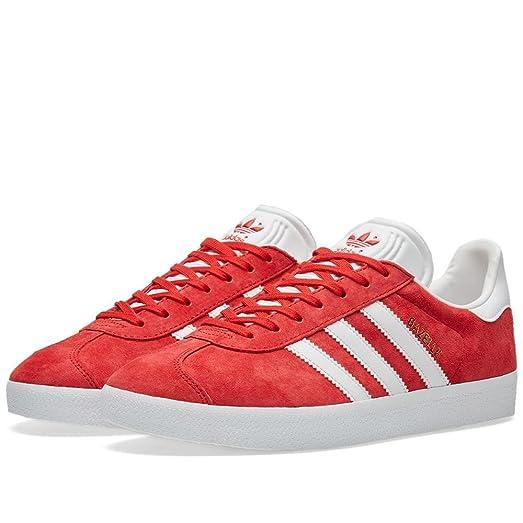adidas Originals Men's Gazelle Lace-up Sneaker Red BB5486 9.5