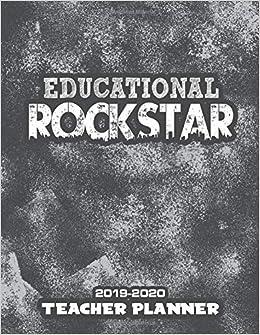 Amazon.com: Educational Rockstar: 2019 - 2020 Weekly ...