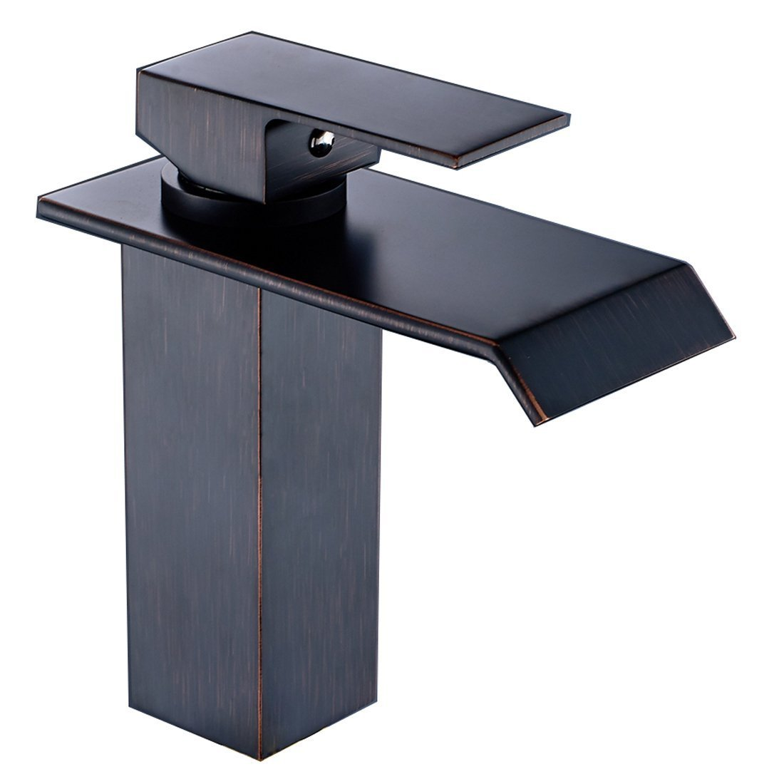 Yodel Single Handle Waterfall Bathroom Vanity Sink Faucet (Oil Rubbed Bronze)