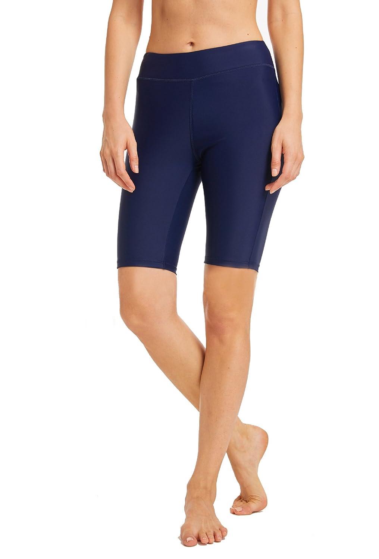 Harem Yoga Womens Solid Color Boardshort Stretch Sport Swim Beach Short
