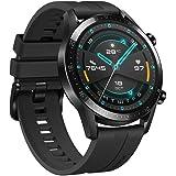Huawei Smart Watch GT 2 Matte Black with flouroelastomer Black Strap